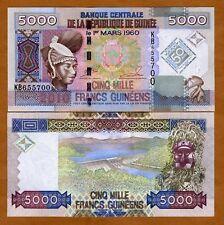 Guinea, 5000 (5,000) 2010, P-New, UNC > Commemorative