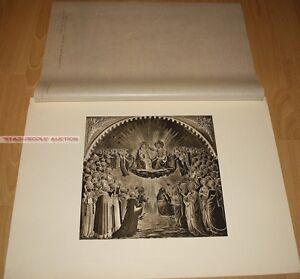 FRA GIOVANNI DA FIESOLE CORONATION OF THE VIRGIN * GERMAN PHOTOGRAVURE 1900
