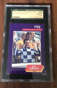 1992 HORSE STAR CARDS RON TURCOTTE JOCKEY Sgc 92 8.5 GRADED HORSE RACING
