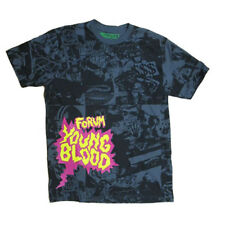 Forum Young Blood TSHIRT BLACK M * NUOVO *