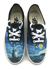 Starry Night Authentic Laced Vans Brand Shoes