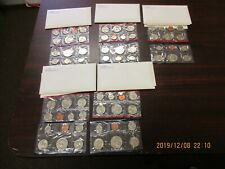 1981 Uncirculated sets (5) with original envelopes