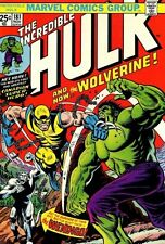 "Marvel INCREDIBLE HULK  #181  Comics  Wall Poster 8.5""x11""   1st App Wolverine"