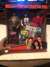 Beverly Hills 90210 Gift Set Brandon, Brenda, Dylan Dolls In Box Mattel Vintage
