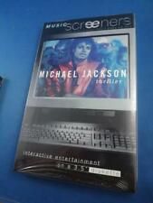 """MICHAEL JACKSON THRILLER MUSIC SCREENERS 1995 SONY VIDEO GAME 3.5"""" DISKETTE"""