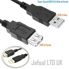 1m Meter USB 2.0 A Male to A Female Extension Lead Laptop PC Sync Data  Cable