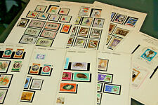 ROMANIA - 1966 - COMPLETE MNH COLLECTION ON OLD SCHAUBEK LEAVES