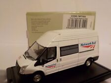 Ford Transit   Network Rail 1:76 Oxford Diecast Model Car British