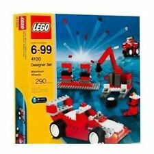Lego Designer Set 4100 Maximum Wheels New & Factory Sealed Free Shipping