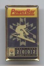 ORIG. pin juegos olímpicos de invierno salt lake city 2002-PowerBar rara vez!!!