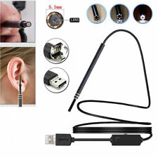 2 in 1 USB Ear Cleaning Endoscope Earpick With Mini Camera HD Earwax Removal Kit