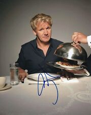 Gordon Ramsay Signed Autographed 8x10 Hell's Kitchen Photograph