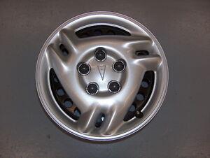 "Single Used Factory 1999-2005 Pontiac Grand Am 15"" Steel Wheel Rim w/Hub Cap"