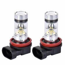 H11 LED Fog Lights Driving H8 Bulb DRL High Power 100W 6000K Xenon Headlight