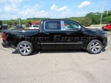 Fits 2019-2020 Dodge Ram Crew Cab Pillar Post 4Pc Trim Stainless Steel