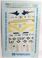 1/72 MicroScale Decals 72-0389 F80c's Kansas Tornado Spirit of Hobo Baby Doll II