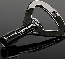 More details for wincent rock key - drum key / bottle opener - drummer gift - black beauty finish