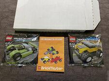 LEGO 7452 7453 Brickmaster Exclusive Racers Tiny Turbos - NEW