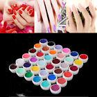 UV Nail Polish Gel Decor DIY Nail Art Tips Manicure Decoration Pure Color 8ml ta