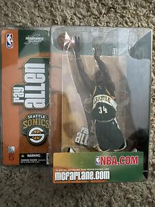Ray Allen Seattle Sonics Series 5 McFarlane's NBA Figure NIP - Free Shipping