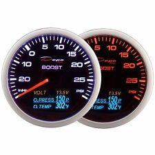 DEPO Racing 60mm Boost Turbo Volt Oil pressure&Oil temperature gauge 4 in 1 PSI