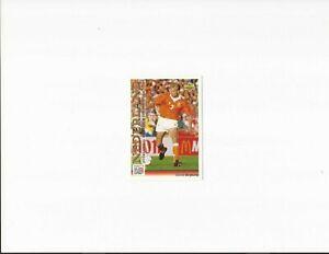 DENNIS BERGKAMP ~UPPER DECK WORLD CUP 94~ INTERNATIONAL ALL-STARS ~ 1993 ~No.123