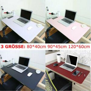 Schreibtischunterlage Tischunterlage Schreibtischmatte PVC Leder Mauspad 3 Größe