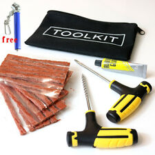 Car Van Motorcycle Tubeless Tyre Emergency Puncture Tire Repair Strips Tool Kit