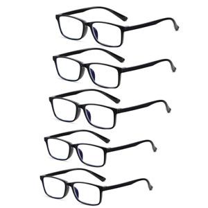 Value Multi 5 Packs Reading Glasses Mens Womens Lightweight UV Reader 1.0-4.0 UK