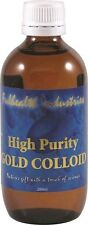 FULHEALTH INDUSTRIES Colloidal Gold 200ml high purity colloid