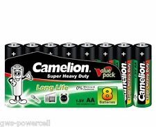 120 x Camelion AA R6 Mignon Batterie Super Heavy Duty Grün lose 1,5V 10108006