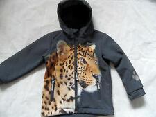 JAKO-O tolle Softshelljacke Leopard grau Gr. 104/110 TOP ST721