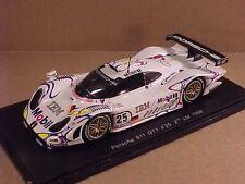 Spark 1/43 Resin Porsche 911, 2nd 1998 Lemans, IBM, # 25, Wollek et al  #S4180