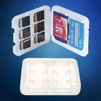 New 8 Slots Micro SD TF SDHC MSPD Memory Card Protecter Box Storage Case Holder