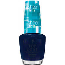 OPI Sheer Tints Top Coat I Can Teal You Like Me NT S04