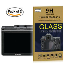 2x Tempered Glass HD Screen Protector for Ricoh GR GR2 GRII GR II / GR Mark III
