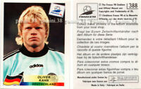 "RARE !! Sticker KAHN n°388 ""WORLD CUP FRANCE 98"" Panini 1998"
