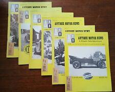 Antique Motor News 1971 Lot Magazine Kaiser Winton V4 TIPO Convertible Vintage