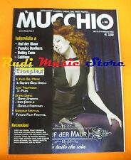 Rivista MUCCHIO SELVAGGIO 565/2004 Auf Der Maur Pernice Brothers Califone *No cd