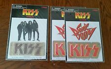 Kiss Sonic Boom Dressed to Kill Stickers Decals