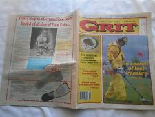 GRIT-OCTOBER 1,1989-IN SEARCH OF LOST TREASURE