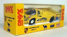 Onyx 1/43 escala-Vintage Porsche 962C Camel Le Mans 1988 Diecast Modelo Coche