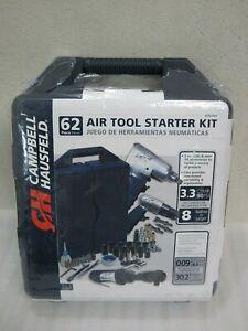 Campbell Hausfeld 62pc Air Tool Starter Kit model AT921099 Factory Sealed!