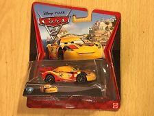 Disney Pixar Cars 2 (#23 IN MATTEL DIECAST SERIES) CAR WGP #5 MIGUEL CAMINO NEW