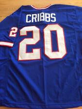Buffalo Bills Joe Cribbs custom unsigned jersey