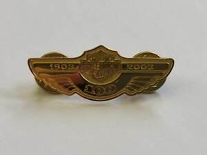 """Harley-Davidson Motorcycle Pin / Anstecker """"4 Stk. Sonderedition 100 Jahre"""""""