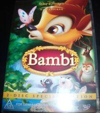 Bambi 2 Disc Special Edition Walt Disney (Australia All Region) DVD – Like New