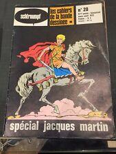 REVUE SCHTROUMPF : LES CAHIERS DE LA BD N°20 - Special JACQUES MARTIN - ALIX