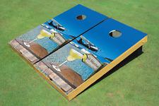 Custom Corn Hole No Worries Graphic Custom Cornhole Board
