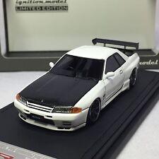 1/43 Ignition IG Nissan Skyline Nismo R32 GTR White Nismo Festival IG0964